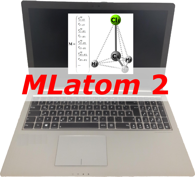 MLatom 2 logo